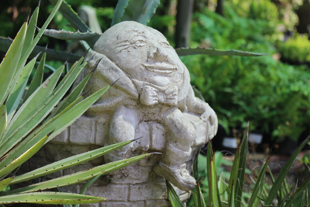 Garden art at the Hingham Nursery